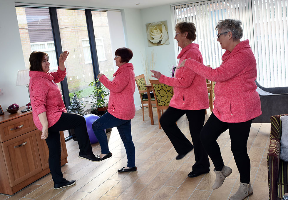 Bishop Ramsay Court - Tai Chi2